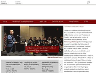 grahamschool.uchicago.edu screenshot