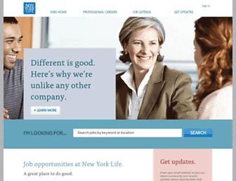 jobs.newyorklife.com screenshot