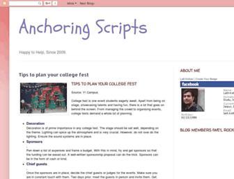 anchoringscripts.blogspot.com screenshot