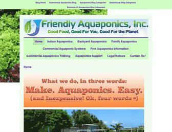 friendlyaquaponics.com screenshot