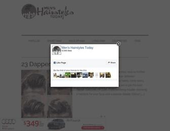 menshairstylestoday.com screenshot