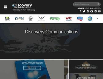 corporate.discovery.com screenshot