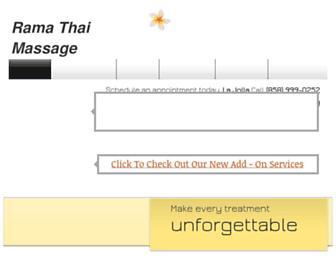 ramathaimassage.com screenshot