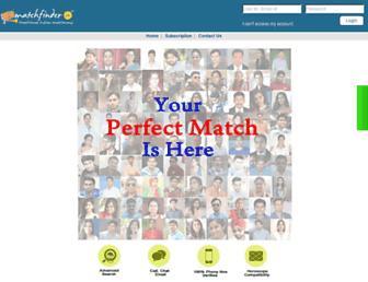 matchfinder.in screenshot