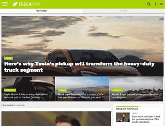Thumbshot of Teslarati.com