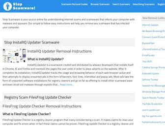 stopscamware.com screenshot