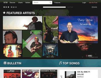 numberonemusic.com screenshot