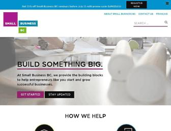smallbusinessbc.ca screenshot