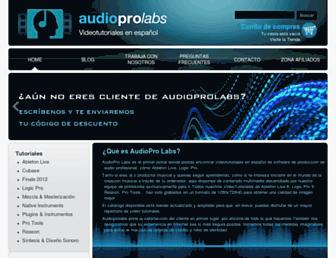 audioprolabs.com screenshot
