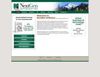 nextgensoftware.com screenshot