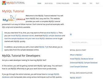 Thumbshot of Mysqltutorial.org