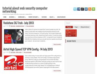 websecuritycomputernetworking.blogspot.com screenshot