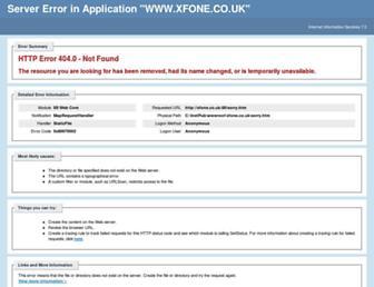 Thumbshot of Xfone.co.uk