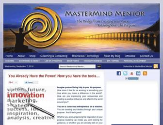 Screenshot for mastermindmentor.com