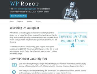Thumbshot of Wprobot.net