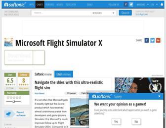 flight-simulator-x.en.softonic.com screenshot