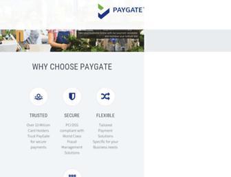 Thumbshot of Paygate.co.za
