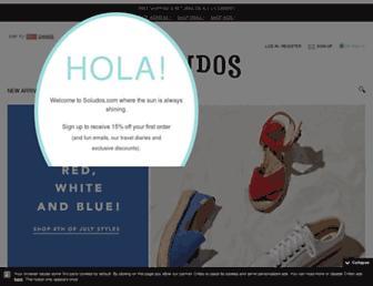 Thumbshot of Soludos.com
