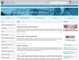 Fullscreen thumbnail of porezna-uprava.hr