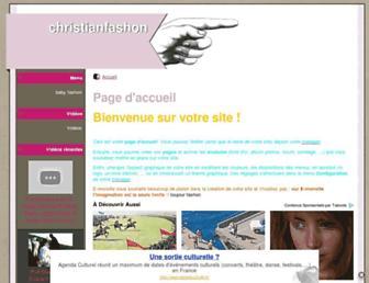 christianfashon.e-monsite.com screenshot