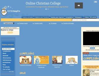 correomagico.com screenshot