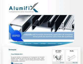 Thumbshot of Alumifix.com.br