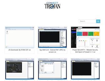 connect-trojan.com screenshot