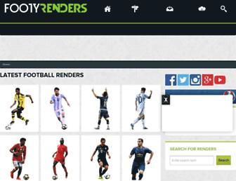 footyrenders.com screenshot
