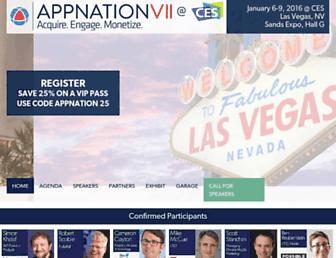 appnationconference.com screenshot