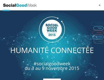 Thumbshot of Socialgoodweek.com