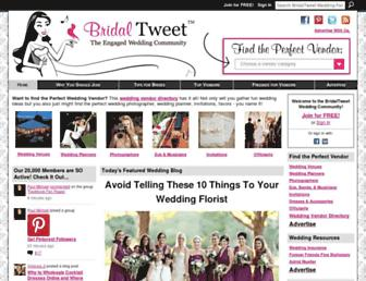Thumbshot of Bridaltweet.com