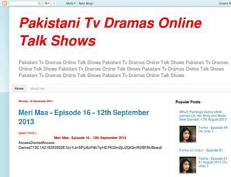 pakistanitvdramasonlinex.blogspot.com screenshot