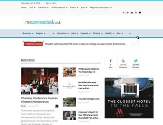 neconnected.co.uk screenshot
