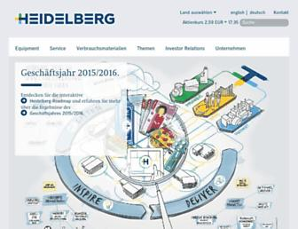 heidelberg.com screenshot