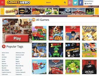 Thumbshot of Gameshero.com