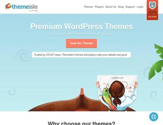 themeisle.com screenshot