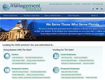 dms.myflorida.com screenshot