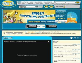 comicshead.com screenshot