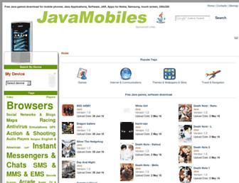 nokia-asha-501.java-mobiles.com screenshot