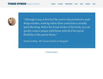 Thumbshot of Themehybrid.com