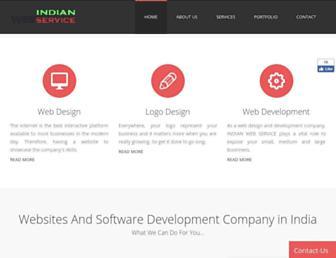 Thumbshot of Indianwebservice.com