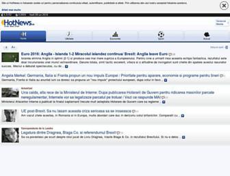 m.hotnews.ro screenshot