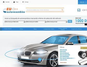 euautorecambios.es screenshot