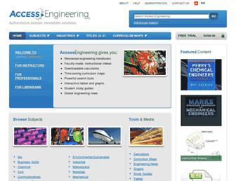accessengineeringlibrary.com screenshot