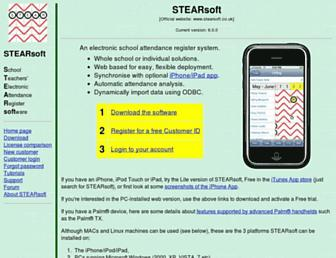 stearsoft.co.uk screenshot