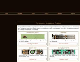 strongholdkingdomsadvguide.com screenshot