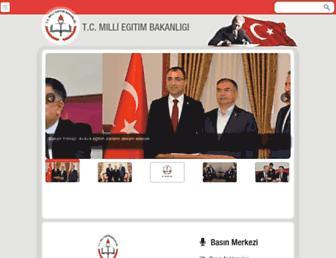 meb.gov.tr screenshot