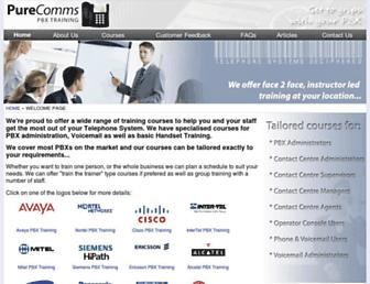 Thumbshot of Purecomms.com