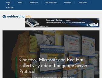 Thumbshot of Webhosting.info