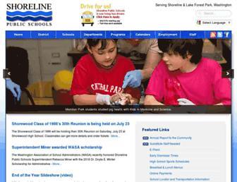 Thumbshot of Shorelineschools.org